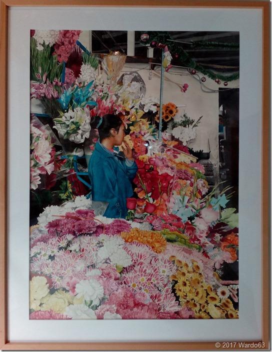 """Alfonso Calle García """"La florista de Cuzco"""""""