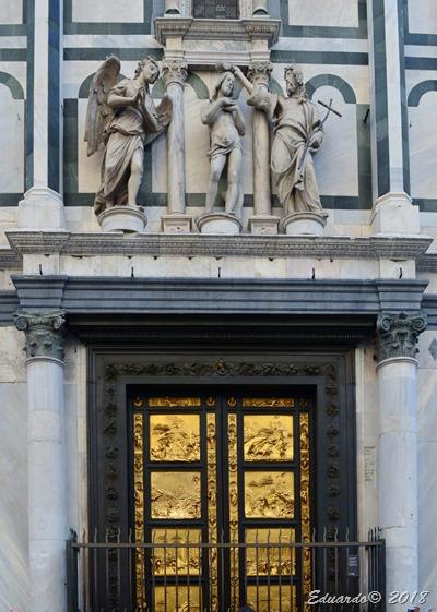 Florencia 2018 - Plaza del Duomo - Baptisterio - Puertas del Paraiso