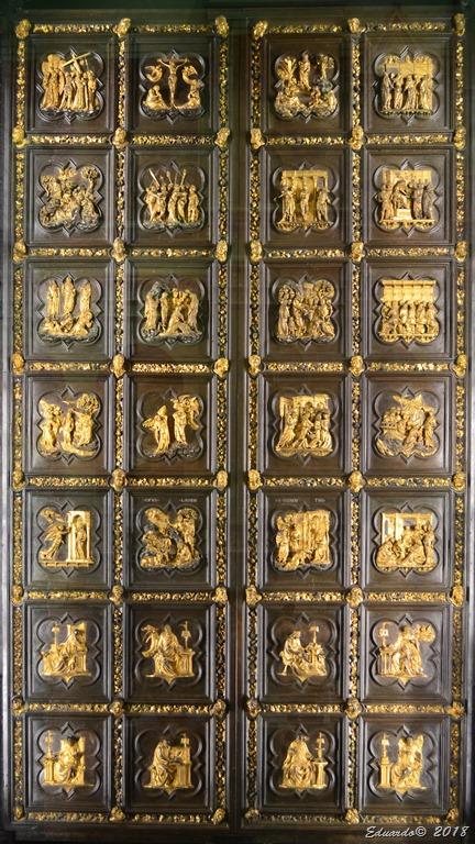 Primeras puertas de Ghiberti - Florencia 2018 - Il Grande Museo del Duomo