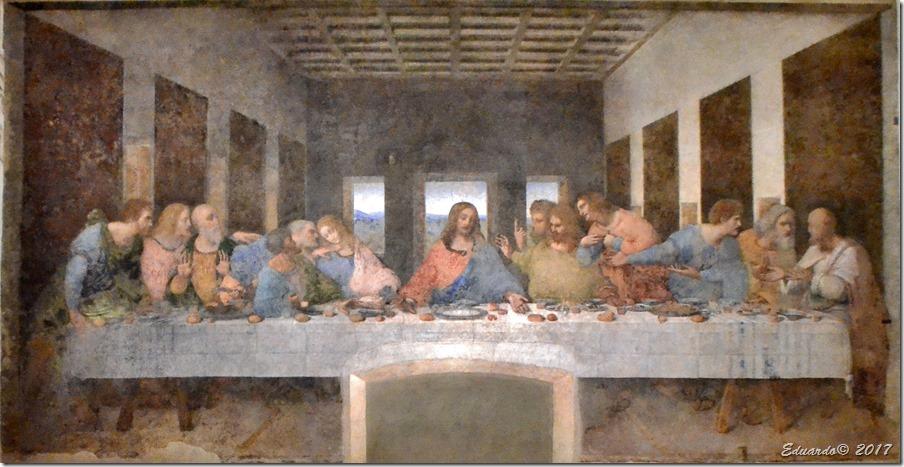 Milan 2017 - Cena de Leonardo - Santa Maria delle Grazie - Leonardo da Vinci - 1494-98