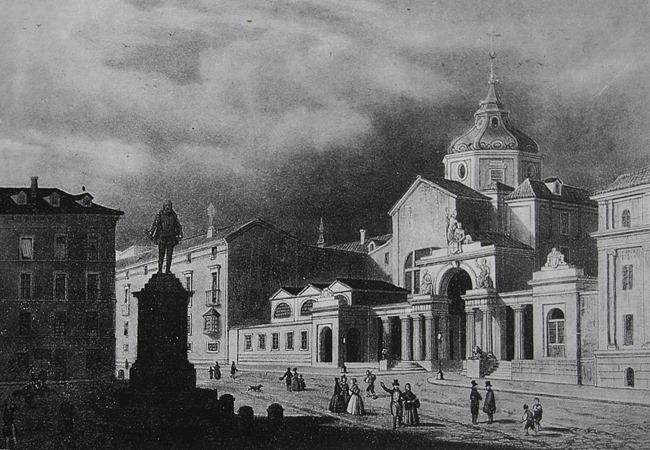 Convento Espiritu Santo. Actual situción del Congreso - Click para agrandar