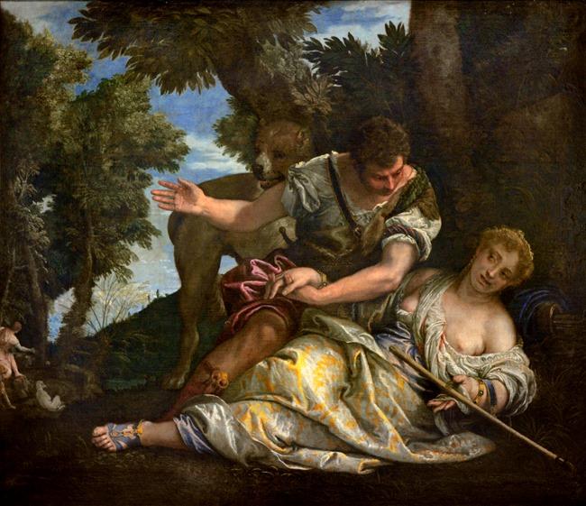 Verones - Cefalo y Procris c.1580 - Click para agrandar