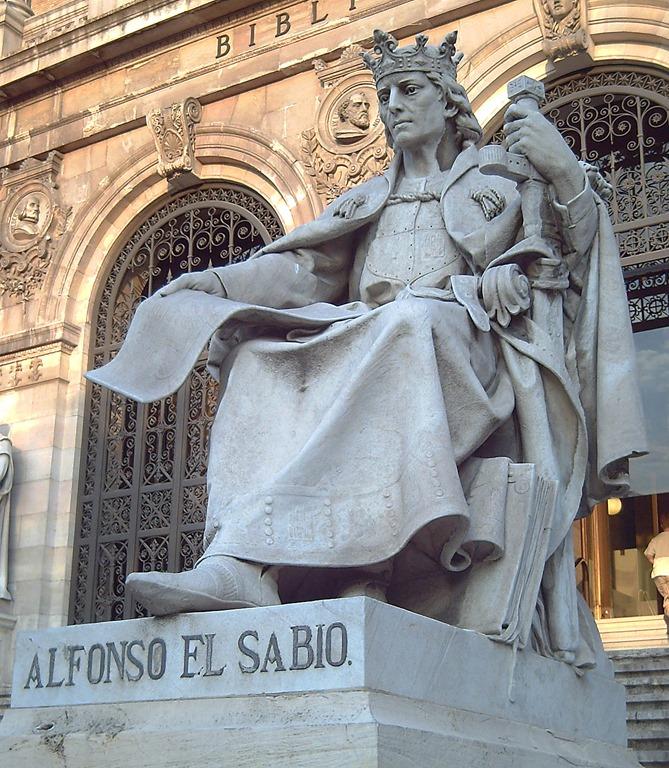 Alfonso X el Sabio (José Alcoverro) - Biblioteca Nacional